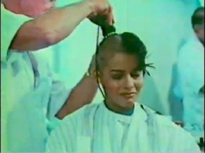 The Making of Star Trek the Motion Picture: Persis Khambatta has her hair shaved