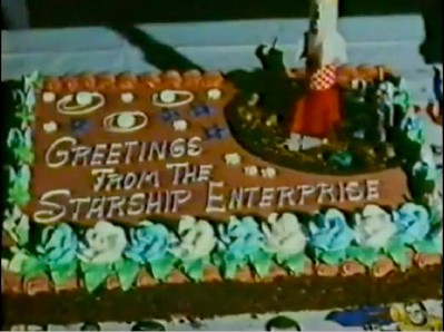 The Making of Star Trek the Motion Picture: a special cake