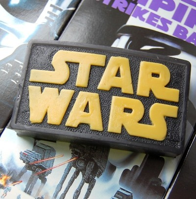Star Wars Logo Soap