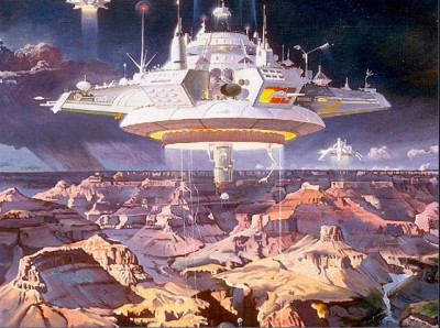 Grand Canyon Arrival by Robert McCall