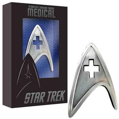 Star Trek Starfleet Medical Division Badge Replica