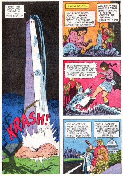 Mighty Samson interior page