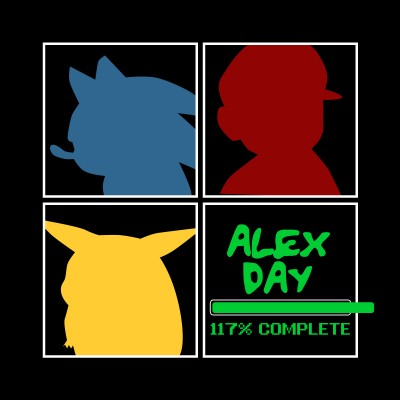 Alex Day 117% Complete