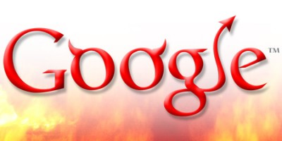 Google is Evil: Photo illustration by Isaac Lopez and Sarah Feinsmith