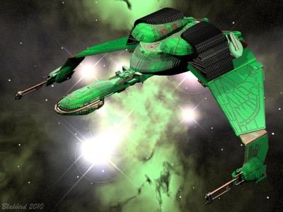 Virtual Lego Klingon Bird of Prey by Kevin J. Walter