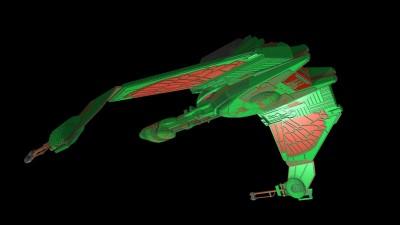 Virtual Lego Klingon Bird of Prey by Kevin J. Walter