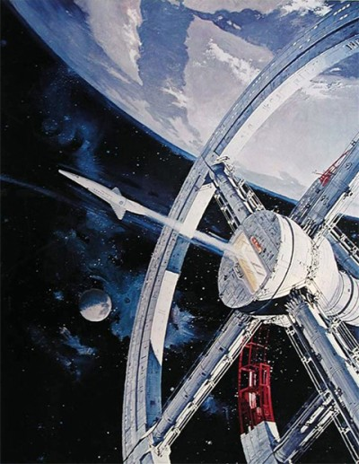 Robert McCall illustration for the film 2001: A Space Odyssey