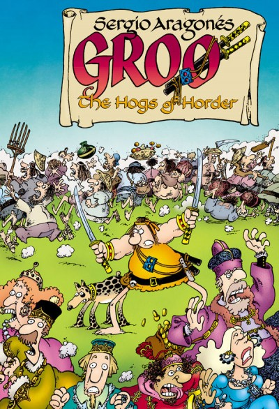 Groo: Hogs of Horder #4 - Cover