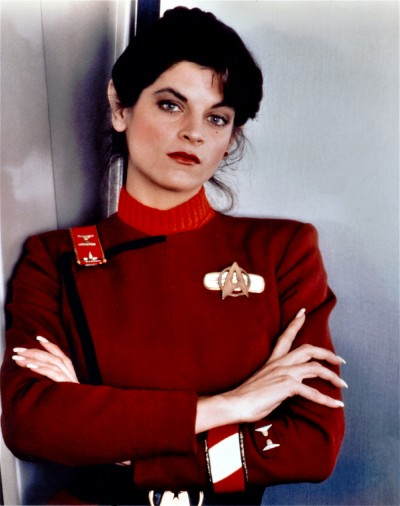 Lieutenant Saavik as played by Kirstie Alley