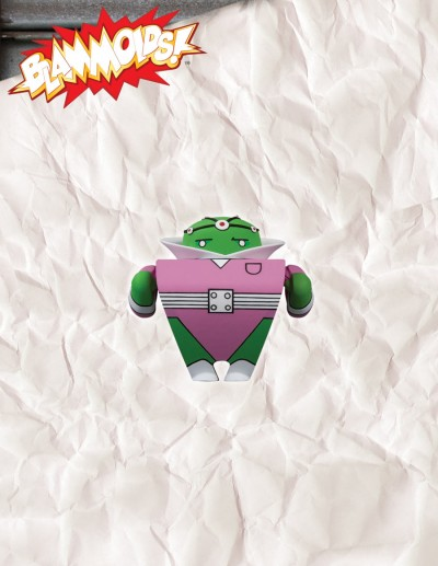Blammoids! Series 4 Brainiac