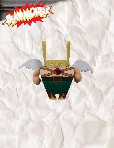 Blammoids! Series 4 Hawkman