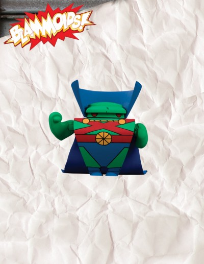 Blammoids! Series 4  Martian Manhunter