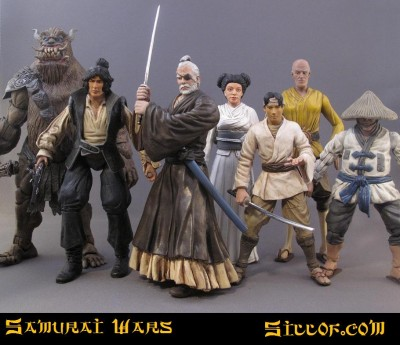Siloff Samurai Wars Customs - heroes