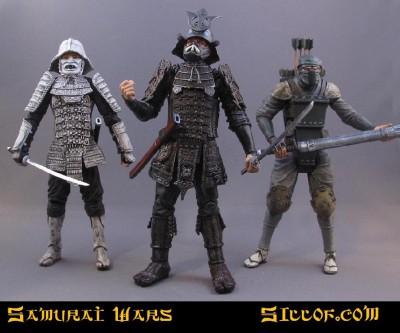 Siloff Samurai Wars Customs - villains