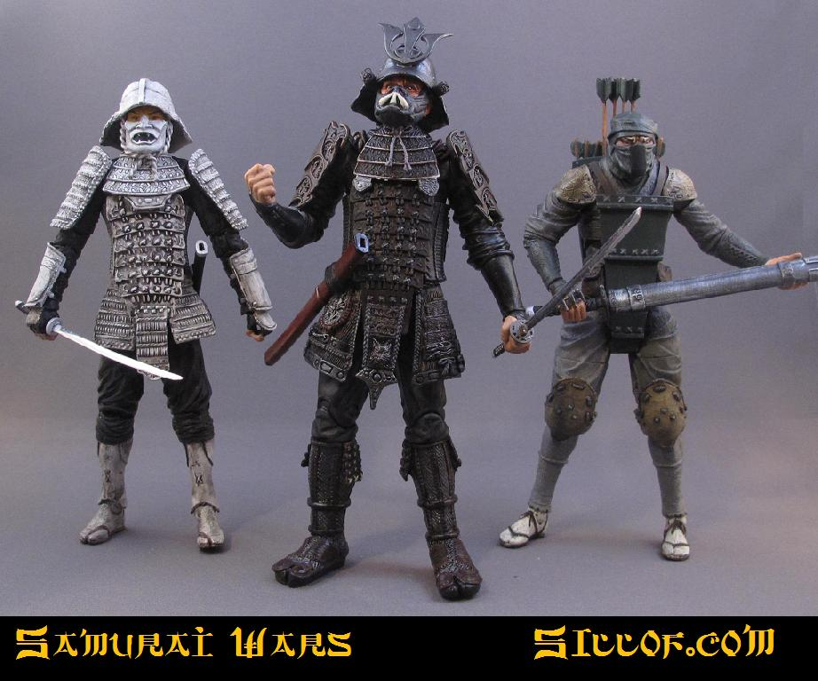 Siloff Samurai Wars Customs - villains