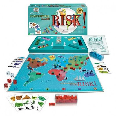 Risk 1959 Edition Game