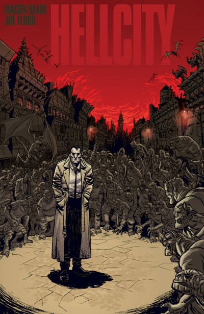 Hellcity (The Whole Damn Thing) cover illustration