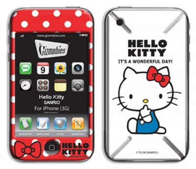 Hello Kitty iPhone 3G/3GS Cover Case