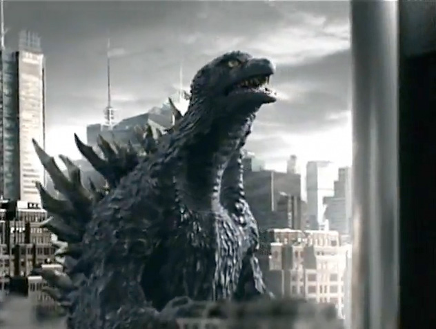 Godzilla Craves Canned Coffee  U00bb Fanboy Com
