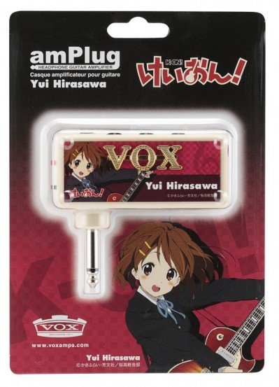 K-on! headphone guitar amplifier Yui Hirasawa