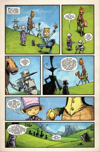 The Marvelous Land of Oz #5 - page 2