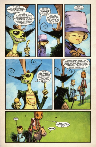 The Marvelous Land of Oz #5 - page 3