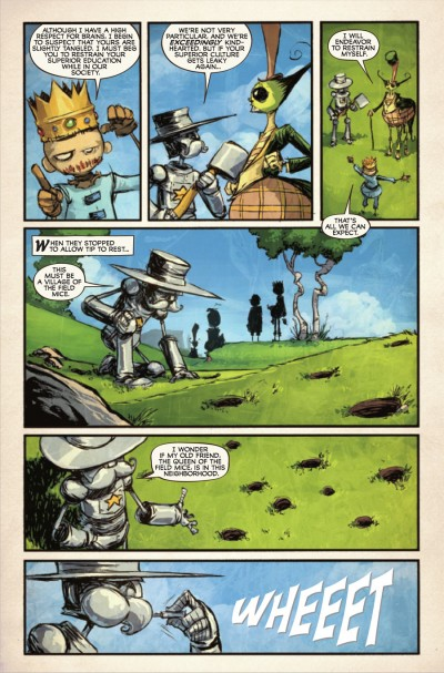 The Marvelous Land of Oz #5 - page 4
