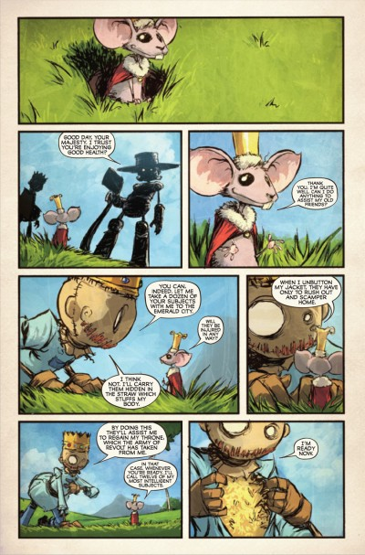 The Marvelous Land of Oz #5 - page 5