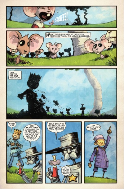 The Marvelous Land of Oz #5 - page 6