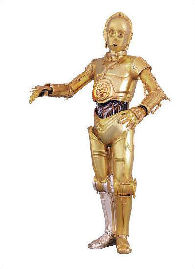 Real Action Heroes Star Wars C-3PO