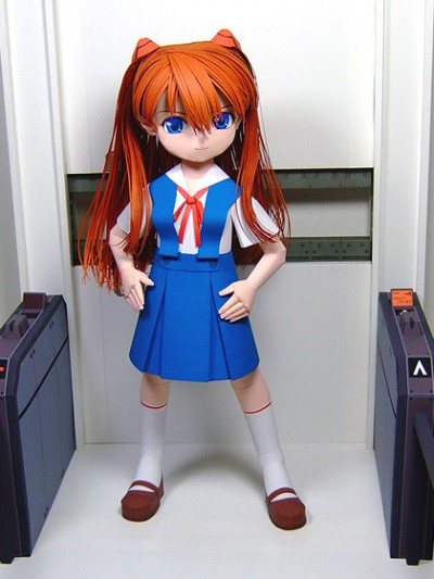 Anime and Papercraft 4