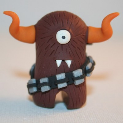 Chewbacca the Timid Monster