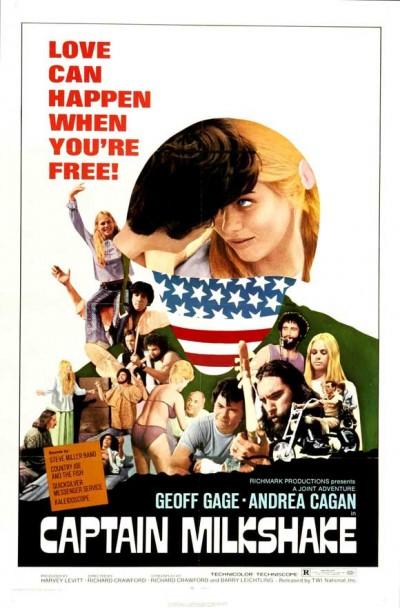 Captain Milkshake poster (1970)