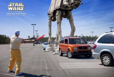 Disney's Star Wars Ads - AT-AT