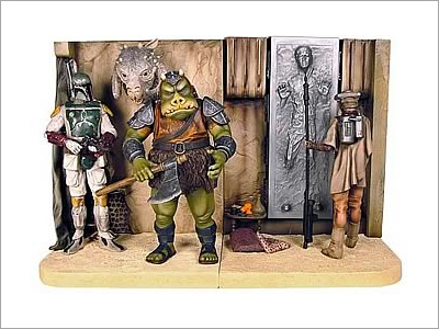 Star Wars Jabba's Palace Bookends Statue
