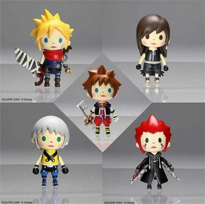 Kingdom Hearts Avatar Trading Arts Mini Vol. 1