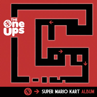The OneUps Super Mario Kart Album Cover