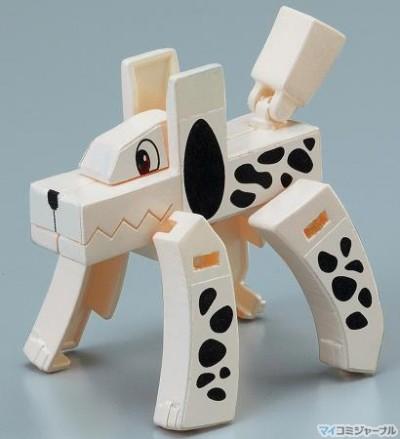 Mojibakeru kanji transformers Dog 1