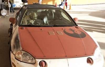 Star Wars Car Modifcation - H-Wing Front
