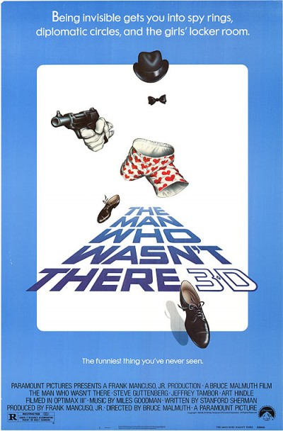 The Man Who Wasn't There poster (1983)