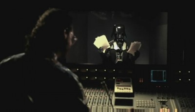 Darth Vader Tom Tom recording session 3
