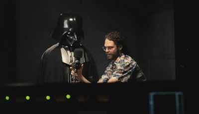 Darth Vader Tom Tom recording session 1