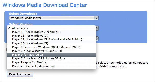 microsoft media player 12 for windows 7 download