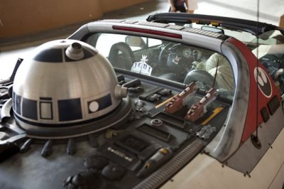 Star Wars Car Modifcation - H-Wing