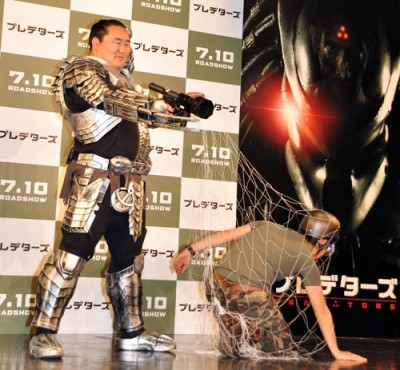 Sumo predator cosplay 2