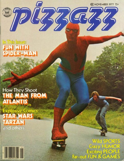 Pizzazz magazine published by Marvel issue #2