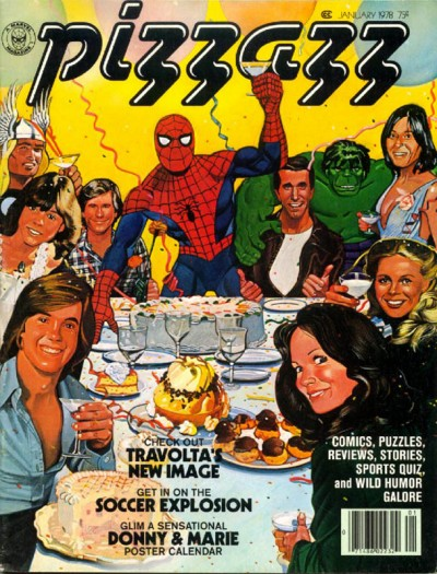 Pizzazz magazine published by Marvel issue #4