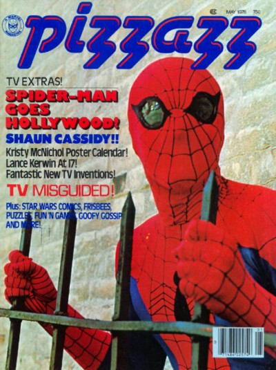 Pizzazz magazine published by Marvel issue #8