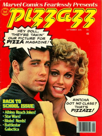 Pizzazz magazine published by Marvel issue #12