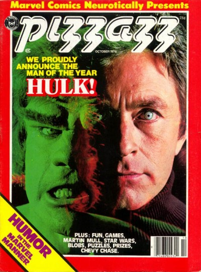Pizzazz magazine published by Marvel issue #13